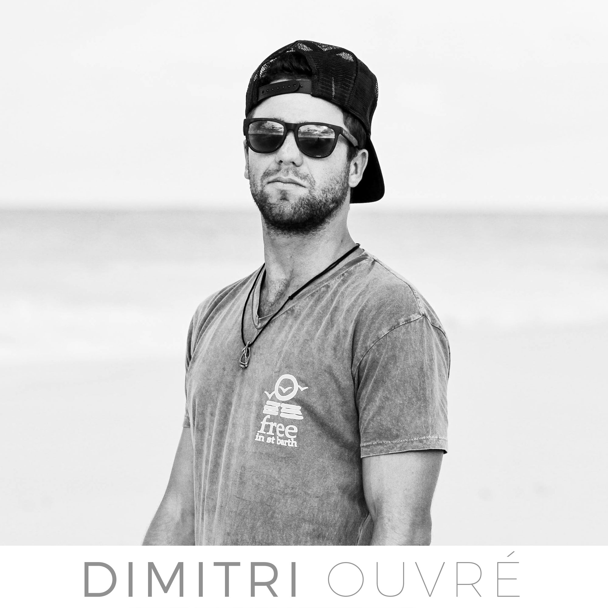 st barth surf team with Dimitri Ouvre