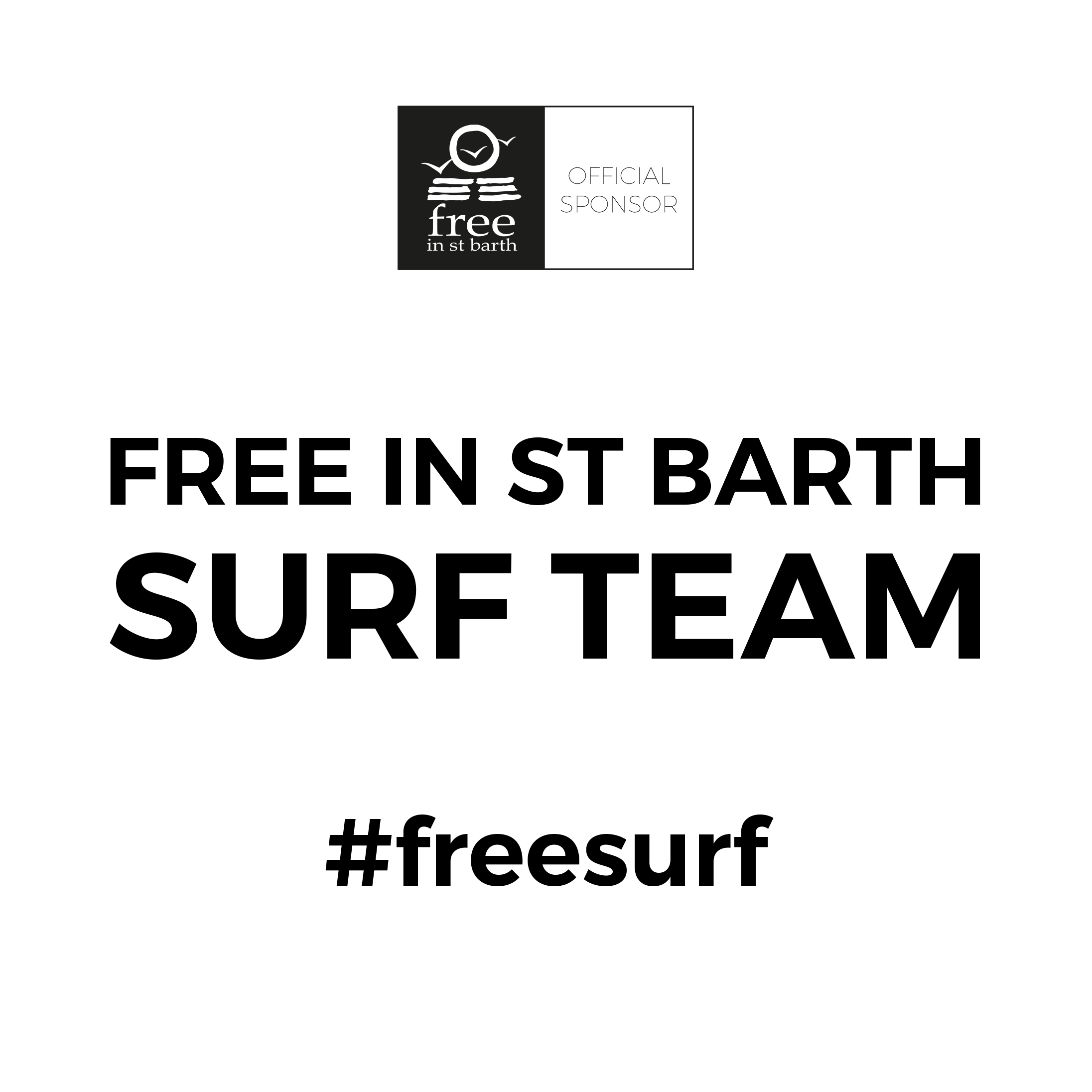 st barth surf team with Tessa Thyssen & Dimitri Ouvré