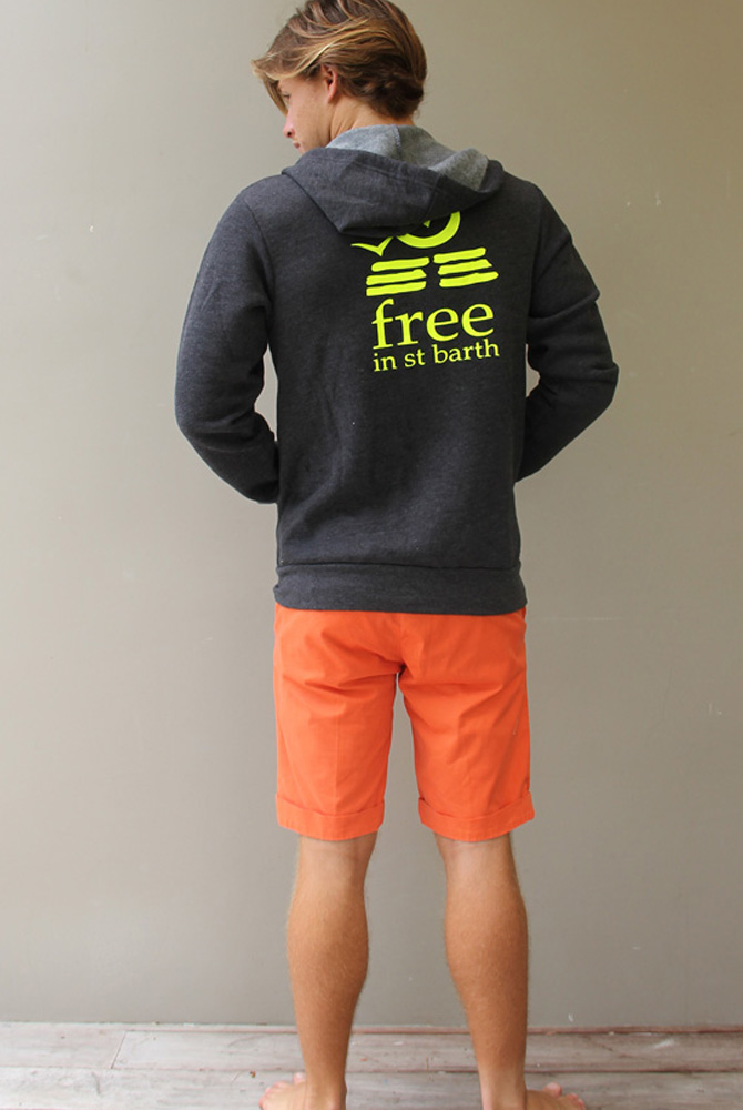 Unisex Hoodie   Men Collection   FREE IN ST BARTH