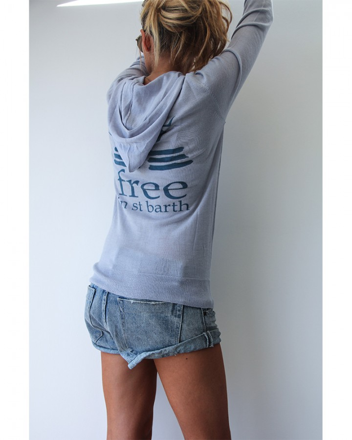 hoodie | cashmere | women collection | free in st barth | st barth lifestyle