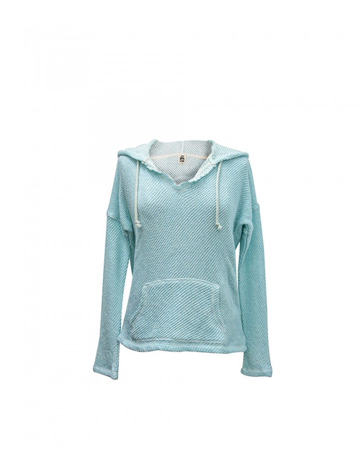 waffle hoodie for women | st barts lifestyle | free in st barth
