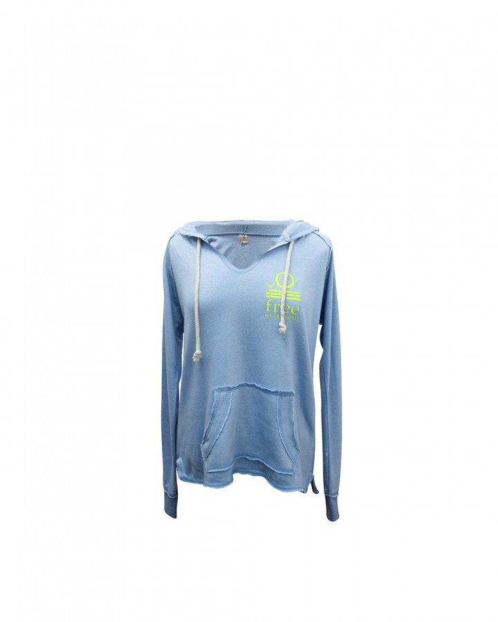 hoodie zipless | women collection | st barts lifestyle | free in st barth