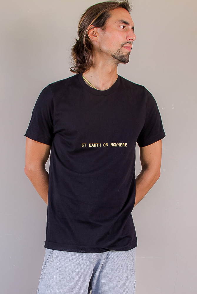 Quotes collection | crew neck tee | men collection | FREE IN ST BARTH