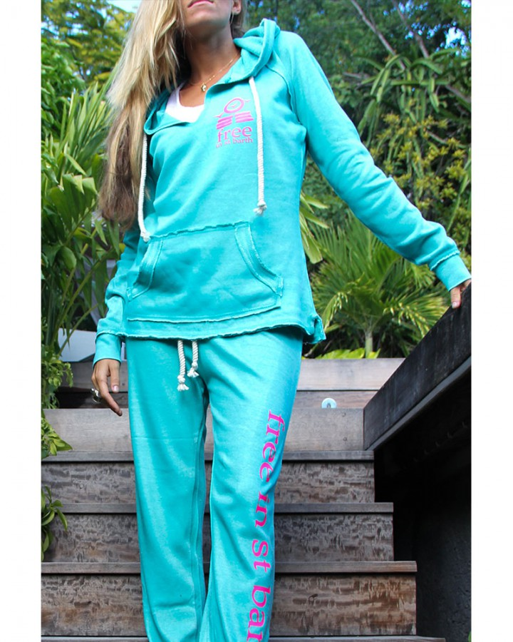 women collection | burnout hoodie | free in st barth