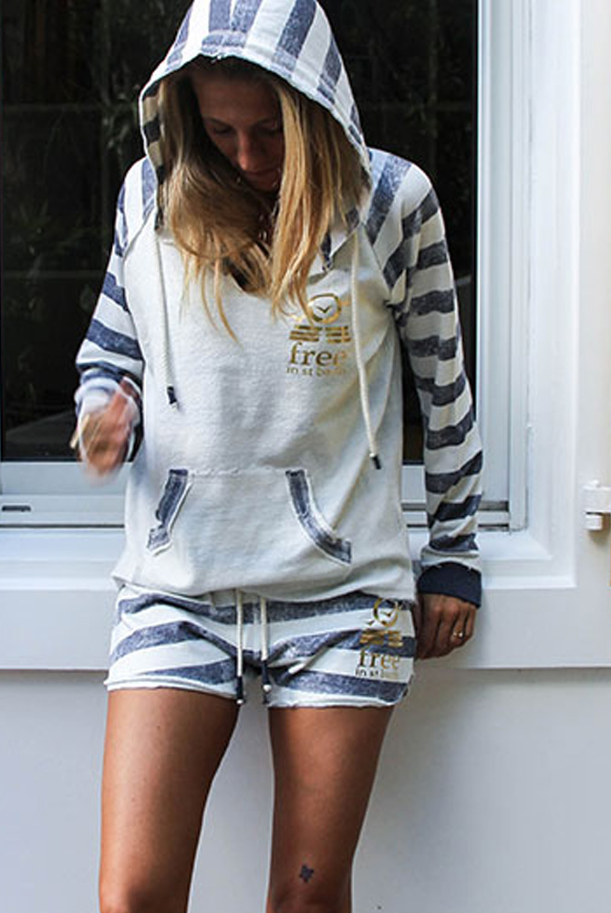 Zipless Hoodie | paradise collection | free in st barth