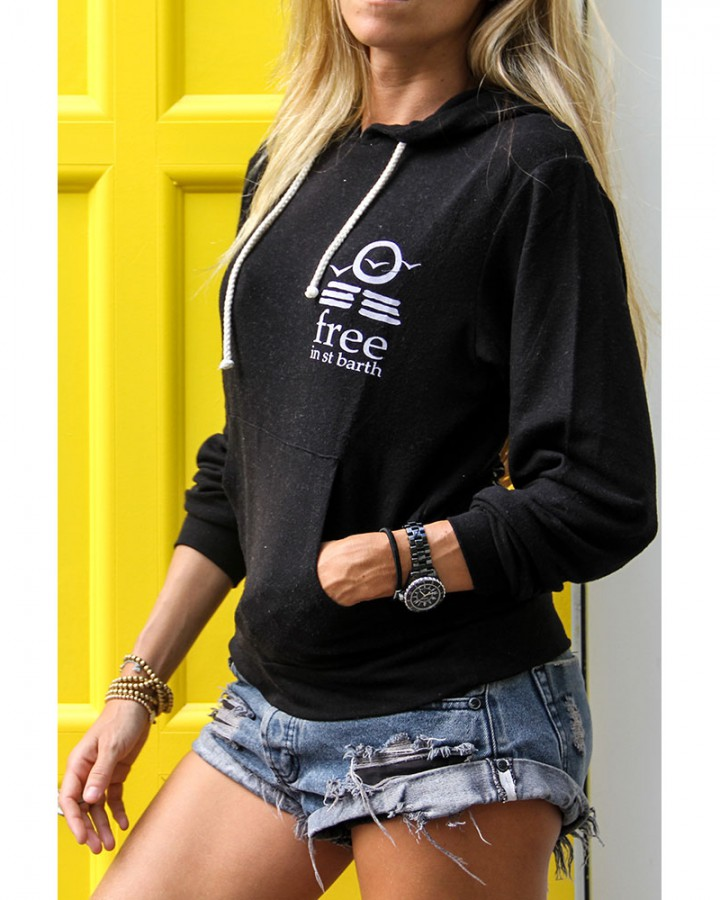 super soft hoodie | st barts lifestyle | free in st barth