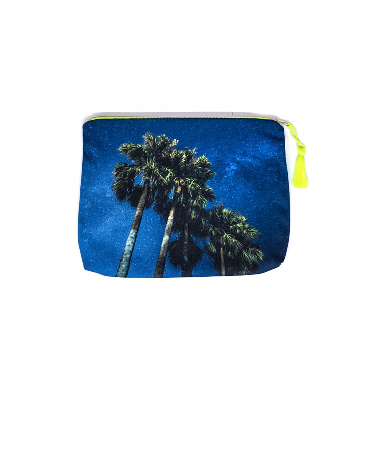 ST BARTH POUCH | Soul of Paradise X Sebastien Martinon (C) | Beach Accessories | FREE IN ST BARTH |