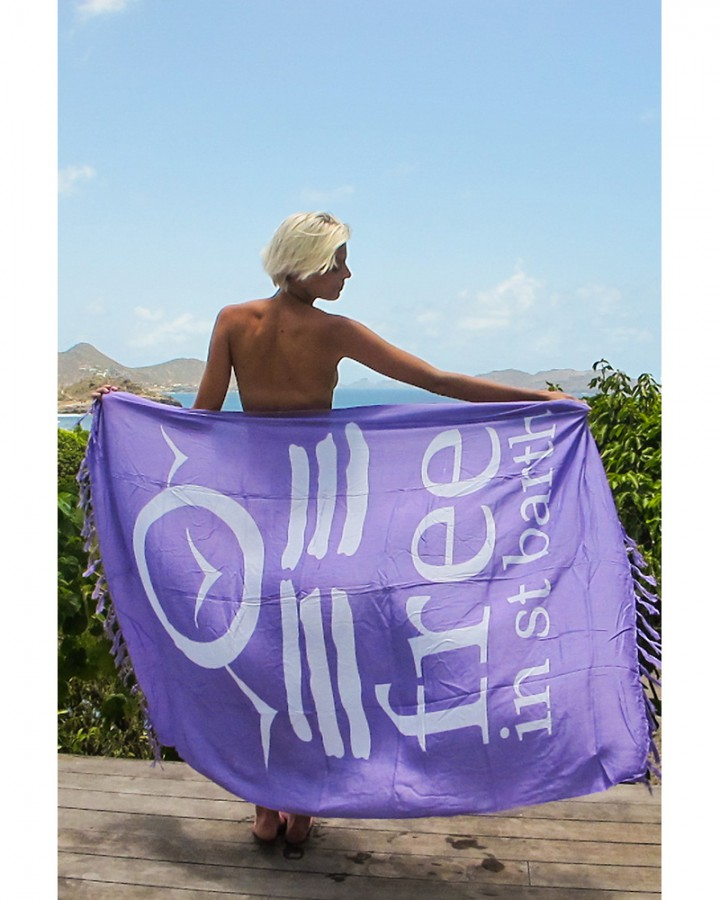Sarong | Pareo | Beach Accessories | FREE IN ST BARTH