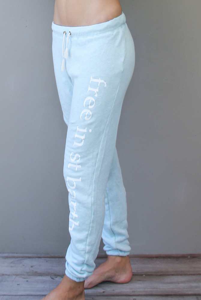 terry sweatpants | women paradise fashion | free in st barth