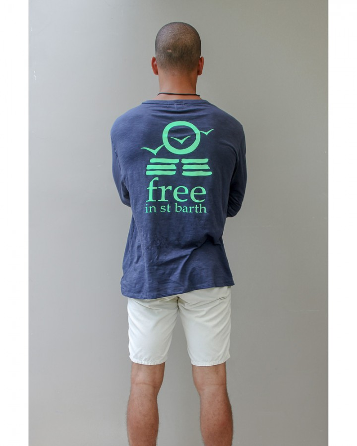 long sleeve tee | men collection | st barts lifestyle | free in st barth