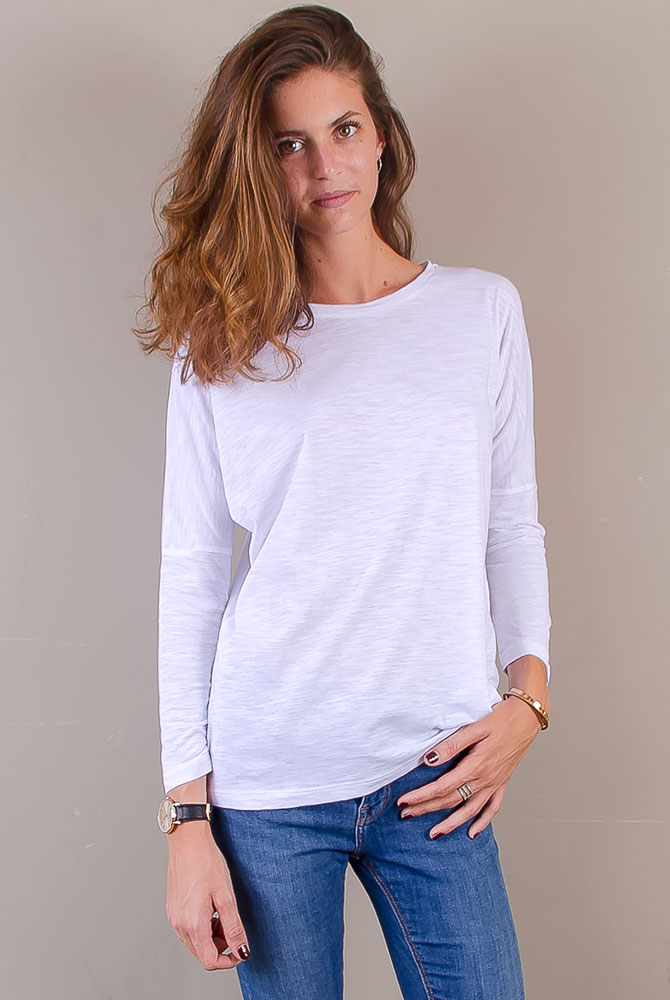 long sleeves tee | women collection | st barts lifestyle | free in st barth