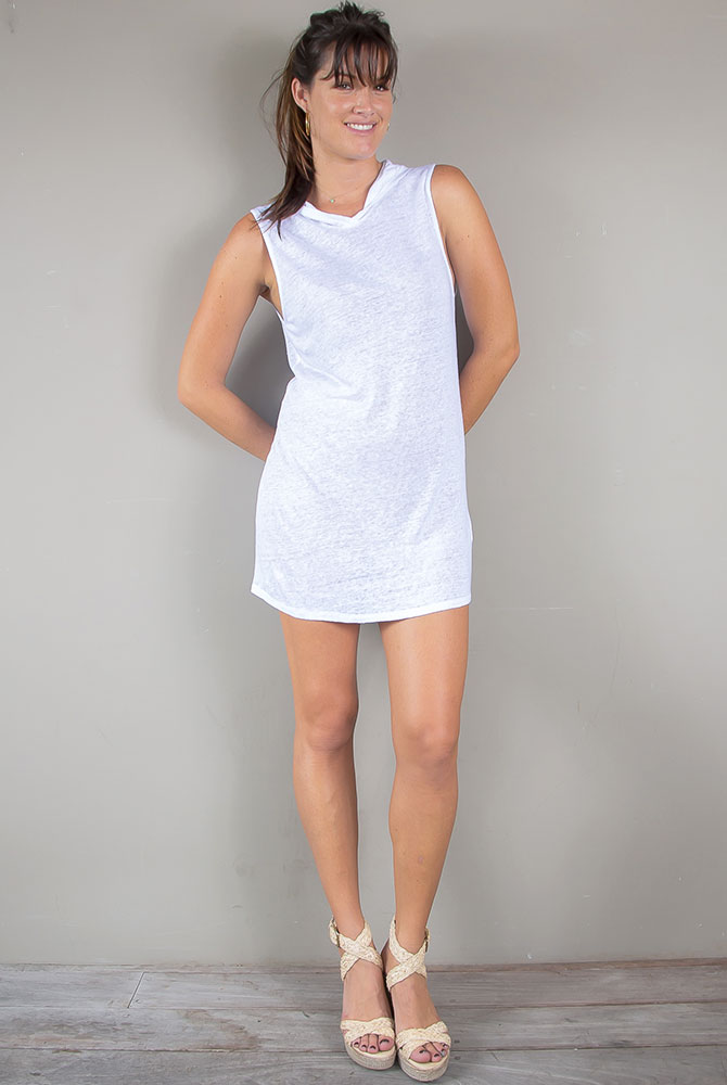 linen dress | women collection | free in st barth