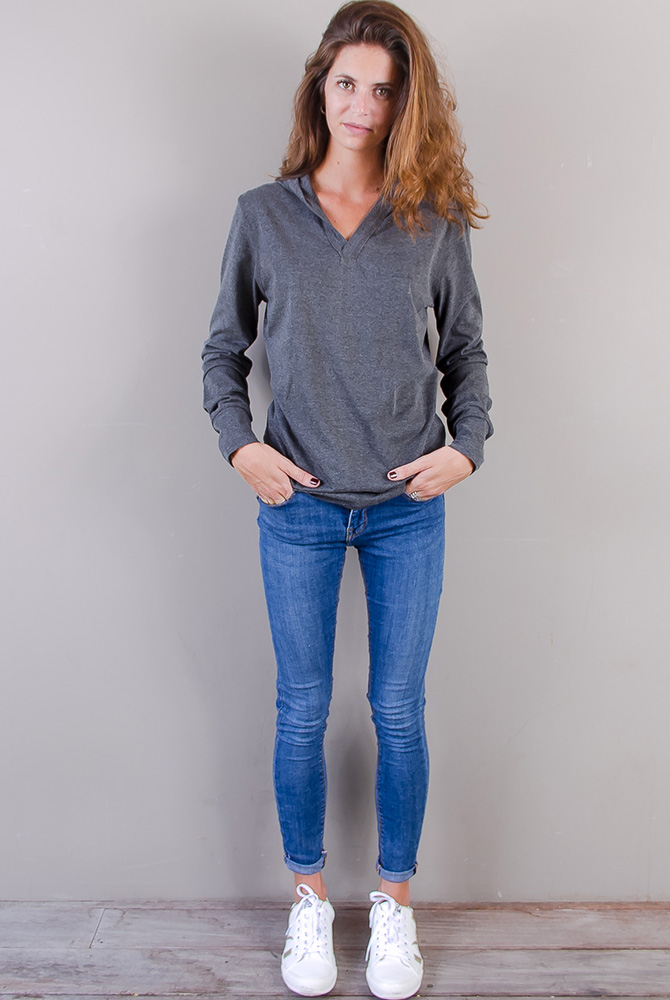 zipless hoodie | women collection | st barts lifestyle | free in st barth