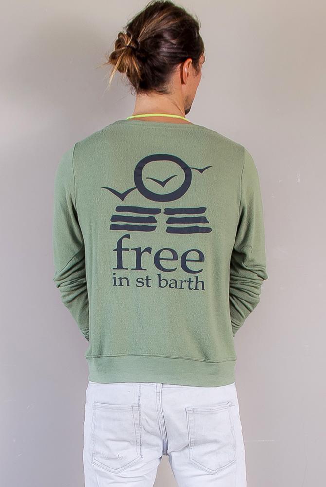 sweatshirt soft   men collection   free in st barth