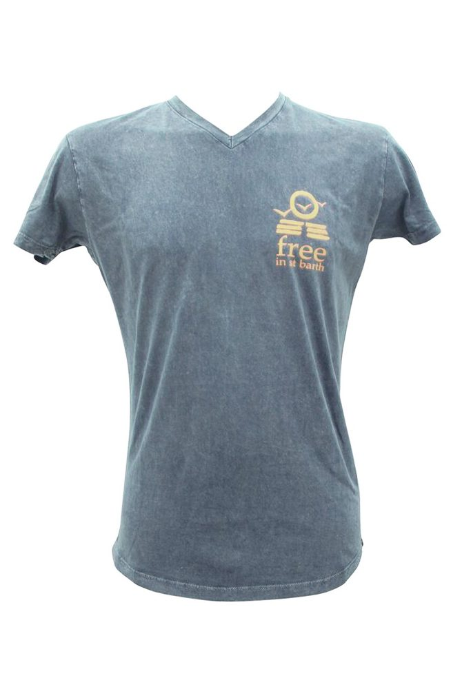 v-neck tee   men collection   st barts lifestyle   free in st barth