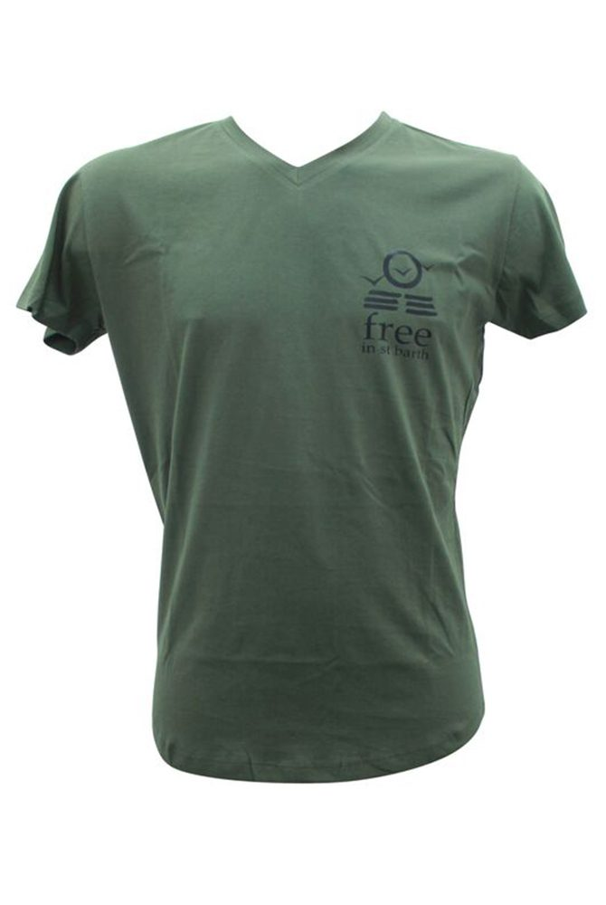 v-neck tee | men collection | st barts lifestyle | free in st barth