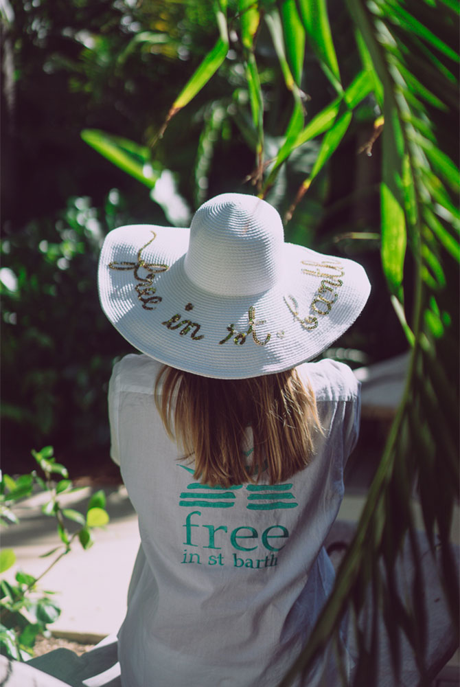 hat | women collection | free in st barth