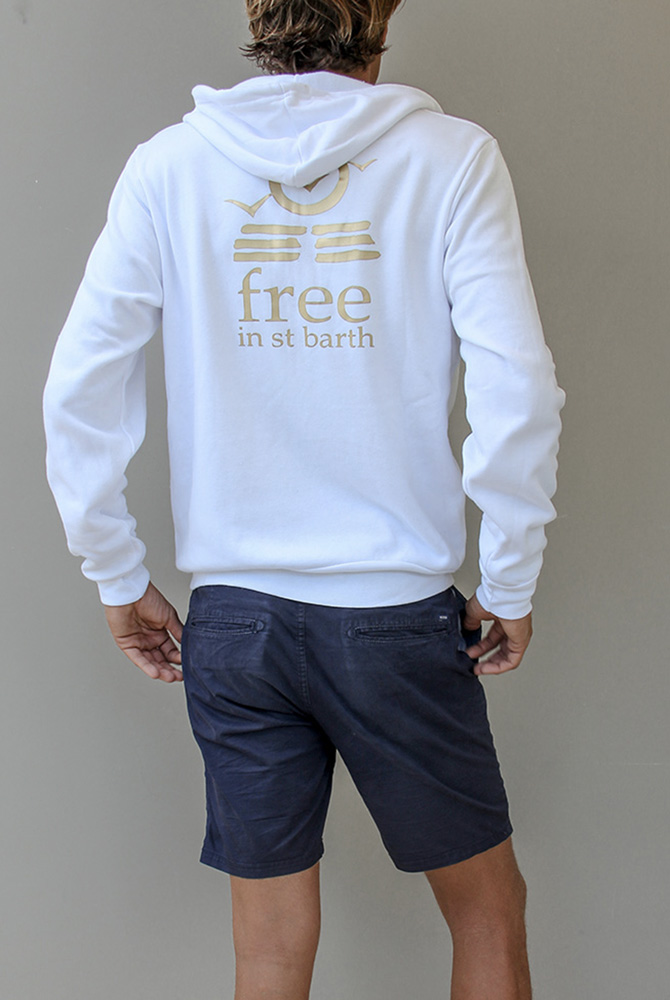 unisex hoodie | mens fashion | island free in st barth
