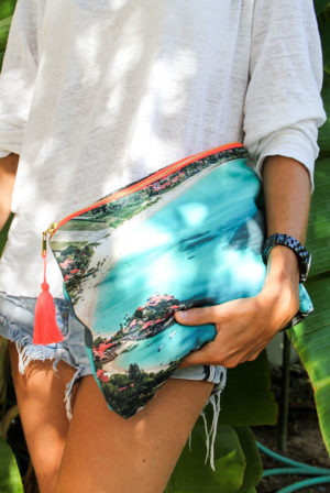 soul of paradise pouch | st barth island