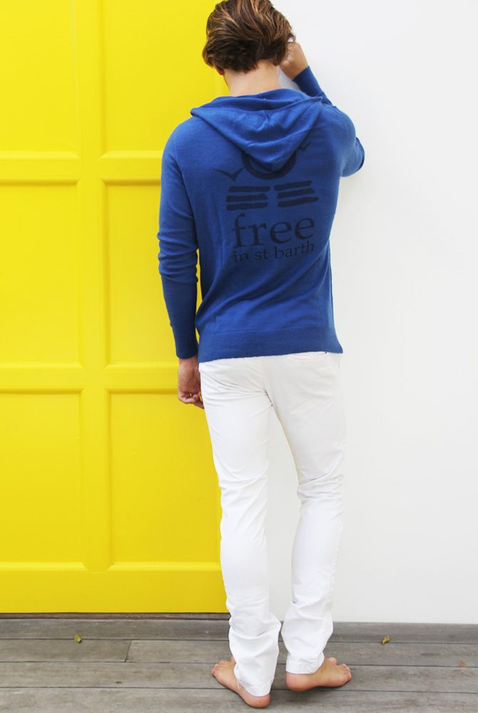 zip hoodie cashmere | kim cashmere | unisex collection | free in st barth