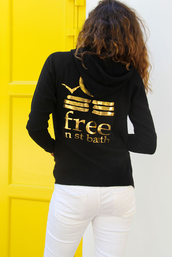 cashmere zip hoodie | women collection | free in st barth
