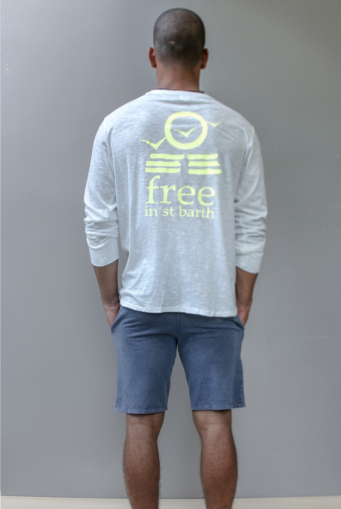 long sleeve tee | free in st barth | st barths fashion men