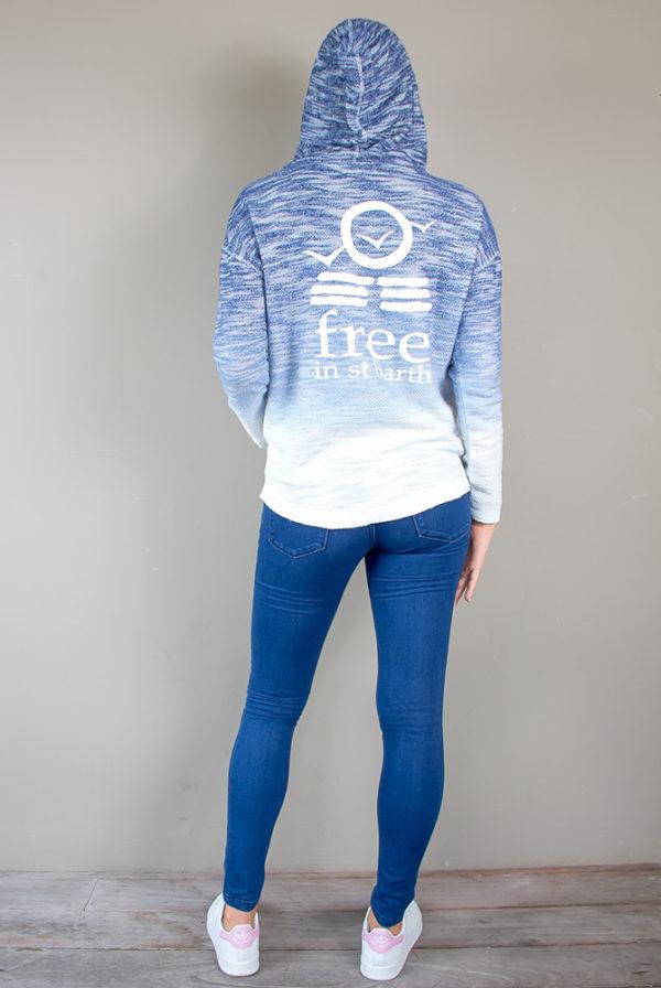 slub hoodie | women collection | free in st barth