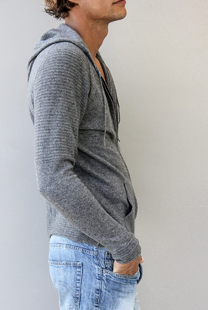 clyde cashmere hoodie | men collection | free in st barth