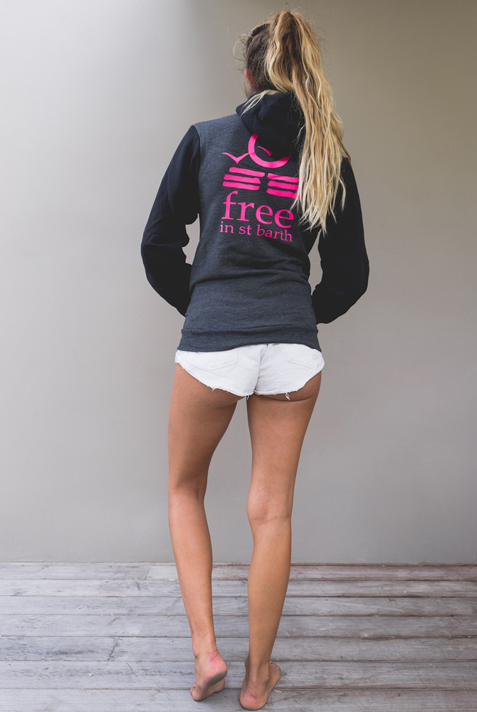 unisex hoodie | women collection | st barts lifestyle | free in st barth