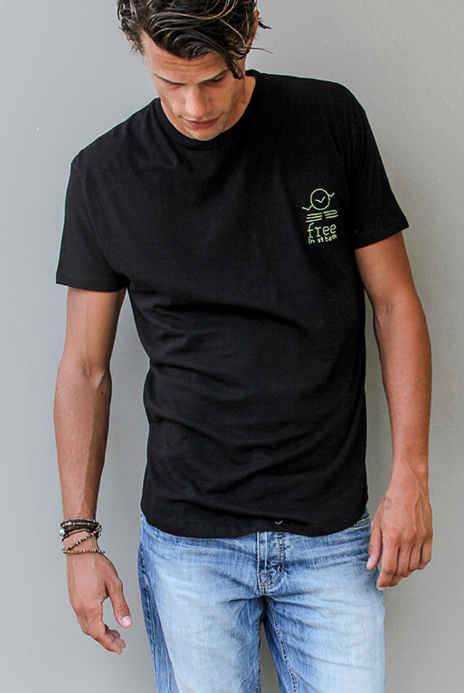 Crew neck Tee | Men collection | FREE IN ST BARTH