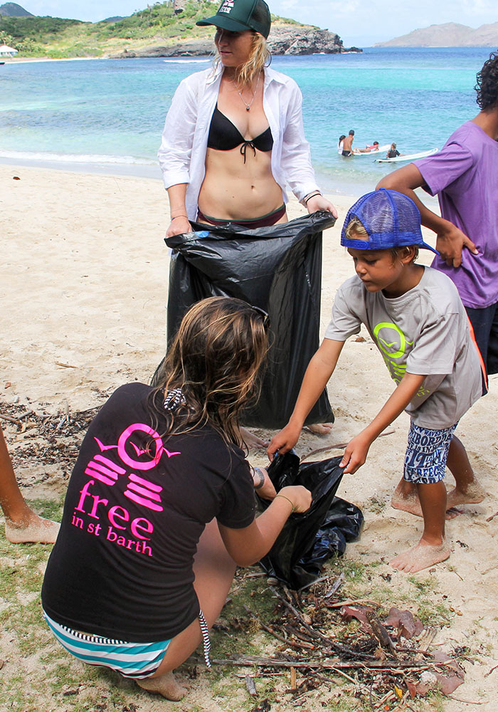 mother earth | free surf team | free in st barth