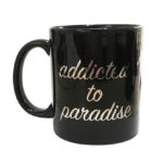 mug addicted to paradise | accessories collection | free in st barth