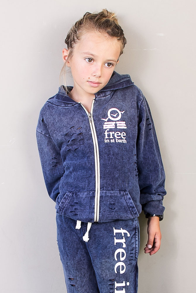 free in st barth | hoodie vintage |kids collection