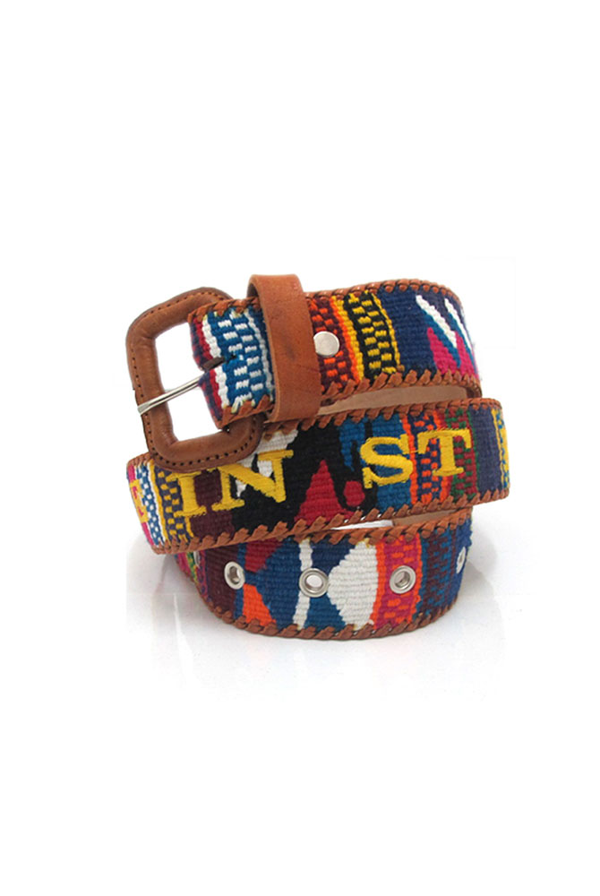 aztec belt | unisex collection | free in st barth