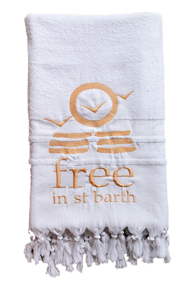 beach towel | free in st barth