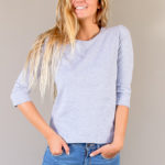 3/4 sleeve tee | women collection | FREE IN ST BARTH