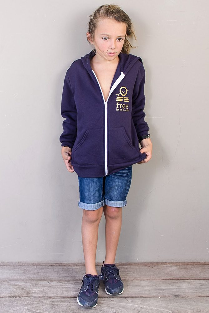 hoodie kids | collection comfy | free in st barth