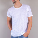 linen tee | crew neck tee | men collection | free in st barth