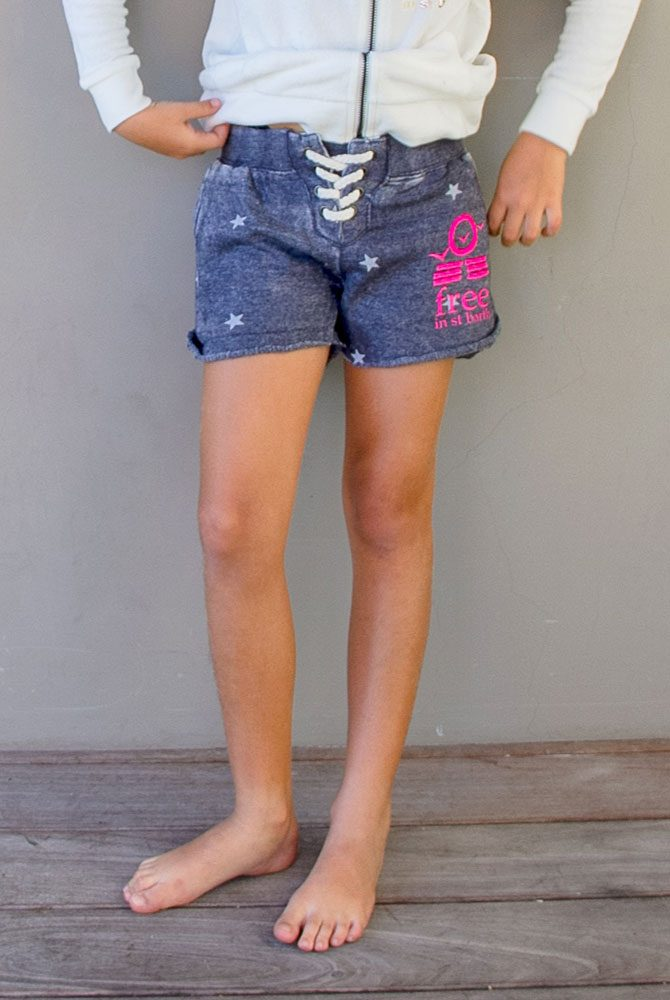 short | kids girl collection | free in st barth