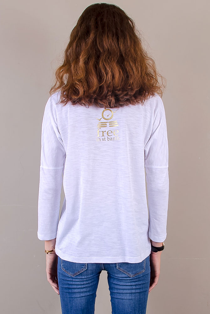 long sleeve tee | women collection | free in st barth