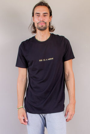 god is a women | quotes tee collection | men collection | free in st barth