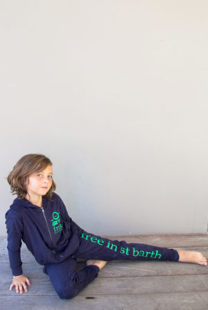 zip hoodie | kids girl collection | free in st barth