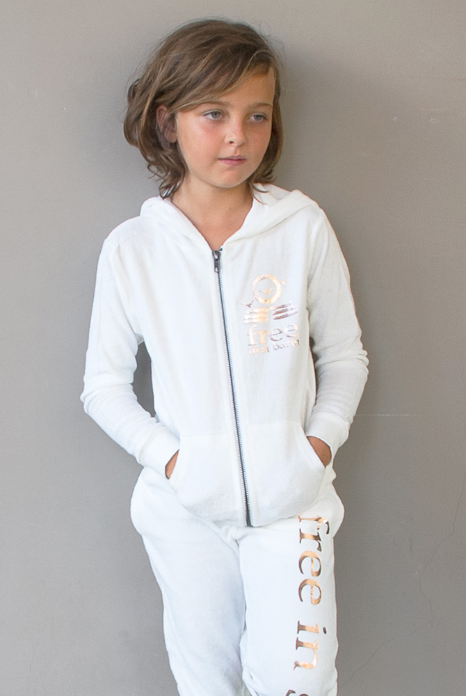 jordan hoodie | kids girl collection | free in st barth