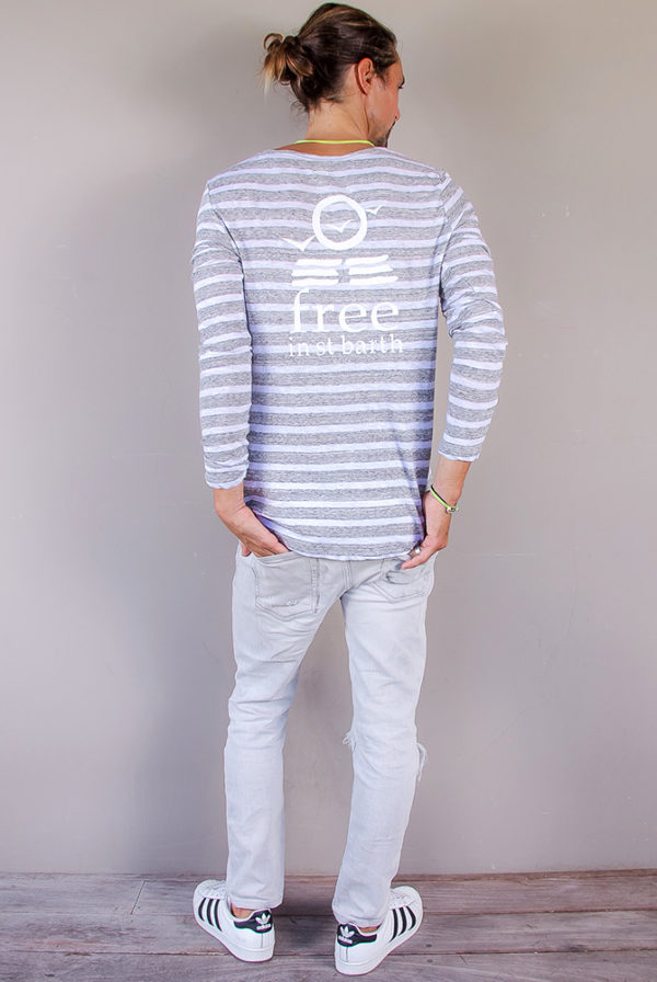 stripes tee | crew neck tee | men collection | free in st barth