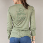 long sleeve tee | linen collection | women collection | free in st barth