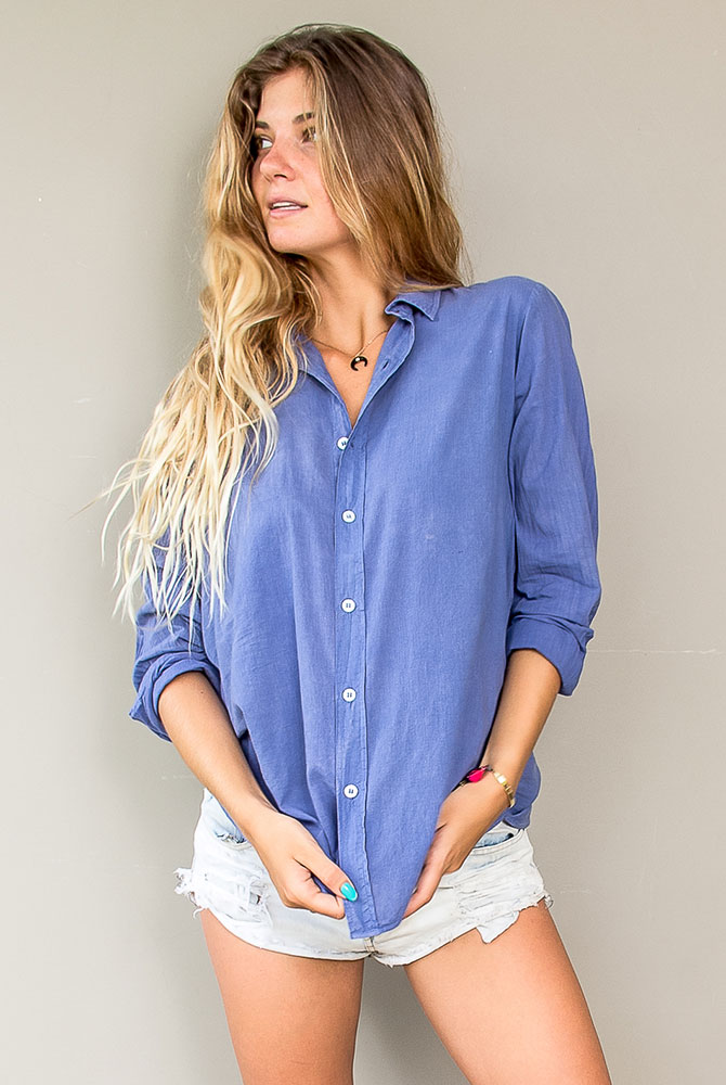 morgan boyfriend shirt | unisex collection | st barts lifestyle | free in st barth