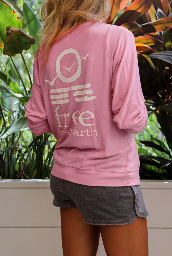 nicky sweatshirt | unisex collection | supersoft | free in st barth