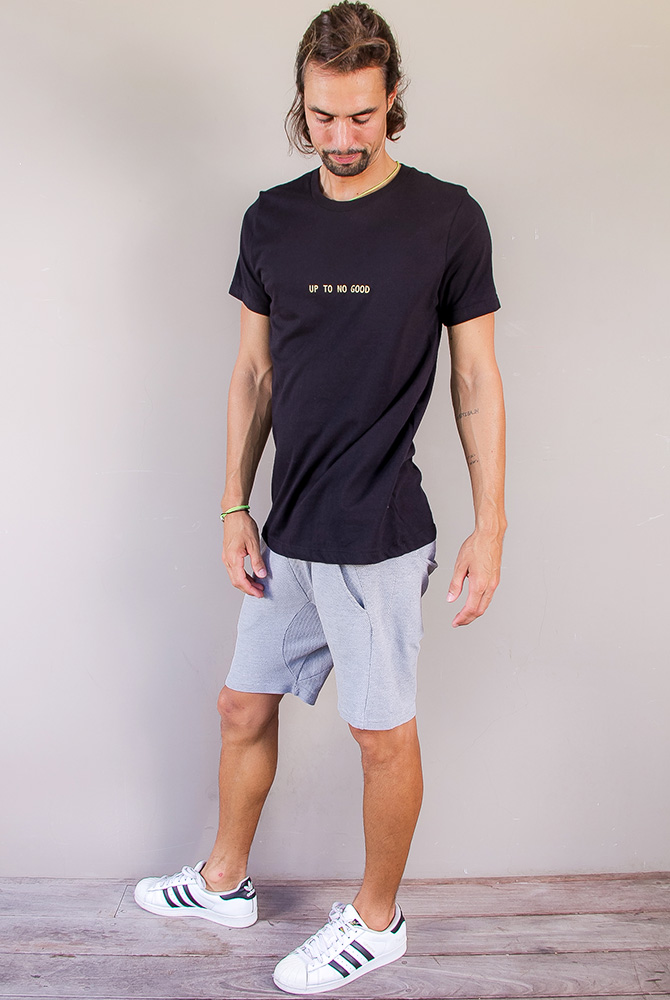 up to no good | quotes tee collection | men collection | free in st barth