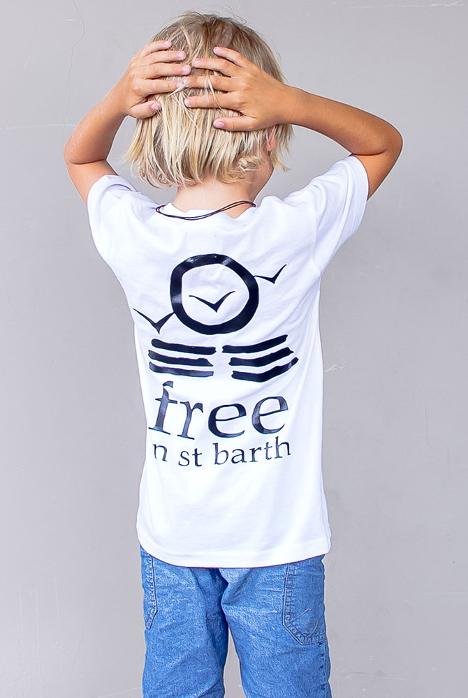 Tees cry neck | Boys Collection | Free in St Barth