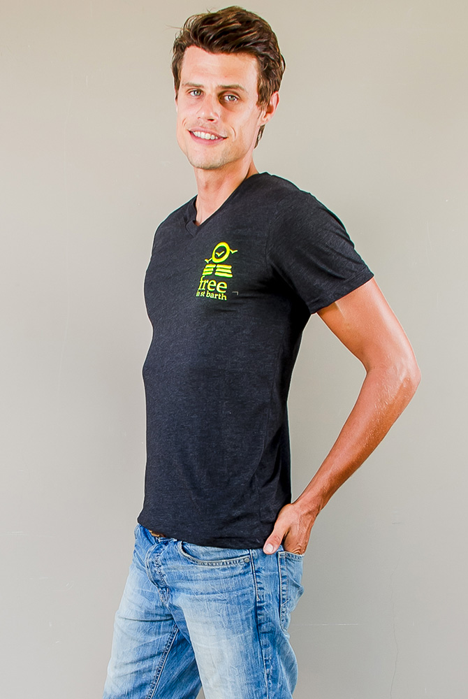 PETER VNECK TEE   Men Collection   FREE IN ST BARTH